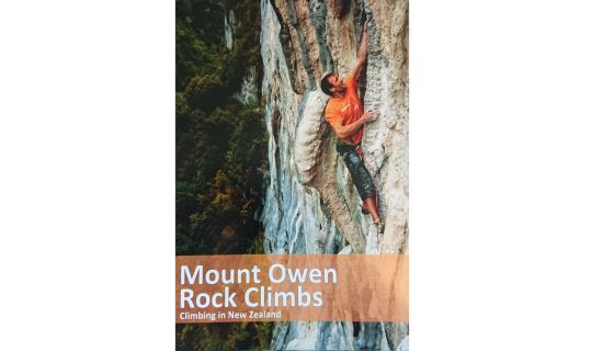 Cover of Mt Owen Rock Climbs guidebook