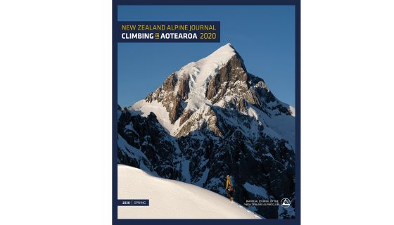 The cover of the 2020 New Zealand Alpine Journal